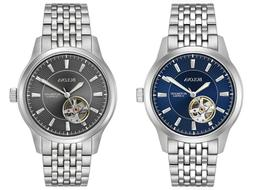 Bulova Men's Automatic Open Heart Window Multiple Dial Color