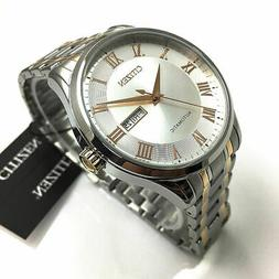 Men's Citizen Automatic Stainless Steel Watch NH8366-83A