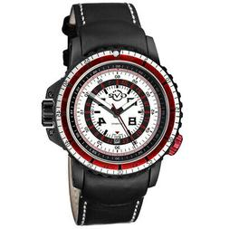 GV2 by Gevril Men's Contasecondi 3504 Swiss Automatic Black