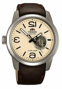 Orient Men's FDB0C005Y0 'Scout' Automatic Brown Leather Watc