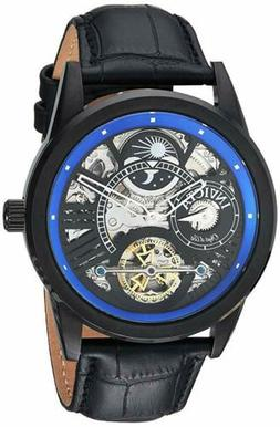 Invicta Men's 'Objet D Art' Automatic SS and Leather Casual