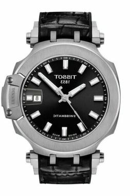 Tissot Men's T-Race Swissmatic Automatic Black Dial Watch T1