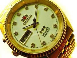 ORIENT Men's Watch Automatic 3 Star Made In Japan Lumibrith