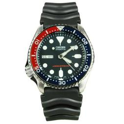Men Seiko SKX009K Pepsi Red Blue Automatic 200M Divers Watch