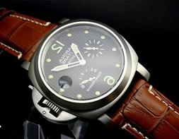 Parnis Military regatta power reserve automatic mechanical m