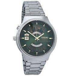 Orient Multi-Year Automatic Green Dial Men's Watch FEU00002F