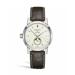 New Longines 1832 Moonphase Automatic Leather Strap Men's Wa