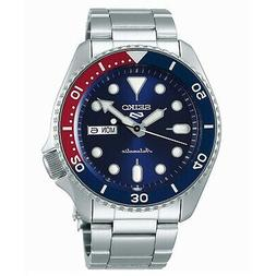 New SEIKO 5 Automatic 100m SRPD53 SRPD53K1 Navy Red Pepsi Or