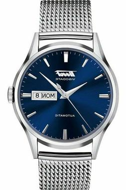 new authentic heritage visodate automatic blue dial