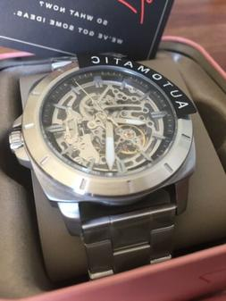 New Fossil Automatic Mens Privateer Sport Mechanical Watch M