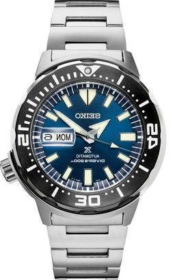 New Seiko Automatic Prospex Monster Blue Dial Divers 200M Me