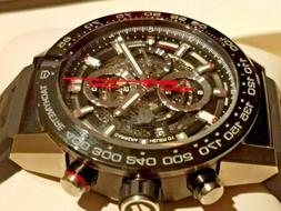 NEW TAG HEUER CARRERA AUTOMATIC CHRONOGRAPH 45MM HEUER 01 ME