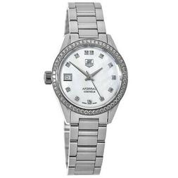 New Tag Heuer Carrera Automatic Mother of Pearl Women's Watc