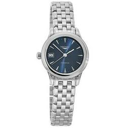 New Longines Flagship Automatic 26mm Blue Dial Women's Watch
