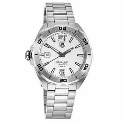 New Tag Heuer Formula 1 Automatic White Dial Men's Watch WAZ