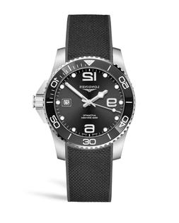 New Longines Hydroconquest Black Dial Automatic Men's Dive W