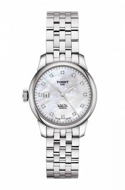 New Tissot Le Locle Automatic Diamond Dial Steel Women's Wat