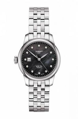 New Tissot Le Locle Automatic Diamond Dial Womens Steel Watc