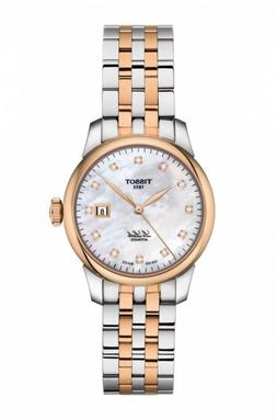 New Tissot Le Locle Automatic Diamond Two-Tone Steel Womens