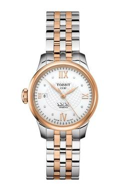 New Tissot Le Locle Automatic Diamond Two-Tone Steel Women's