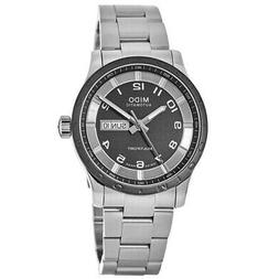 New Mido Multifort Automatic Day-Date Black Men's Watch M018