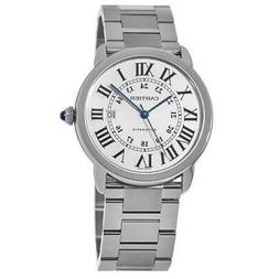 New Cartier Ronde Solo Automatic Large Stainless Steel Men's