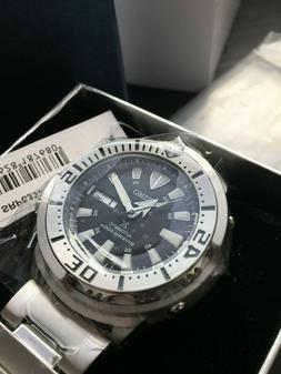 New Seiko SRP637K1 Monster Baby Tuna Automatic Watch with Ra