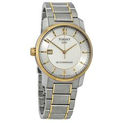 Tissot T-Classic Titanium Men's Automatic Watch - T087407550