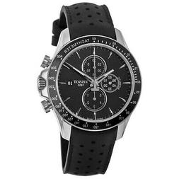 New Tissot V8 Automatic Black Chronograph Dial Men's Watch T