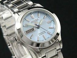 New Seiko Women Automatic Watch Analogue Display Stainless S