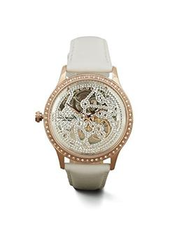 Kenneth Cole New York Women's Automatic White Leather Strap