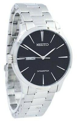 Citizen NH8350-83E Men Automatic Stainless Steel Analog Watc