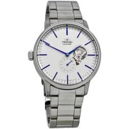 Orient Open Heart Automatic White Dial Men's Watch RA-AR0102