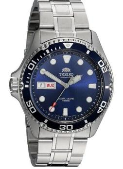 ORIENT  586Men's 'Ray II' Japanese Automatic Stainless Steel