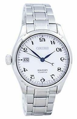 Seiko Presage Automatic Movement White Dial Men's Watch SPB0