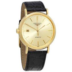 Longines Presence Automatic Gold Dial Men's Watch L49212322