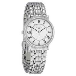 Longines Presence Automatic White Dial Men's Watch L4.821.4.