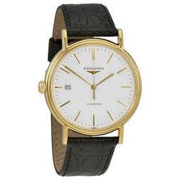 Longines Presence Automatic White Dial Men's Watch L49212122