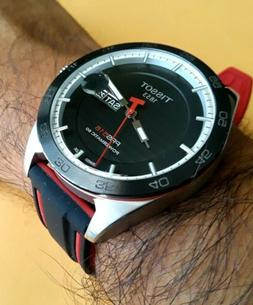 TISSOT PRS516 POWERMATIC 80 AUTOMATIC SWISS 42mm 100M RED SI