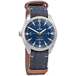 Omega Railmaster Automatic Blue Jeans Dial Men's Watch 220.1