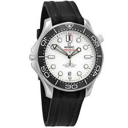 Omega Seamaster Automatic White Dial Men's Watch 210.32.42.2