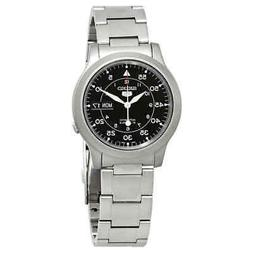 Seiko Series 5 Automatic Black Dial Men's Watch SNK809K1