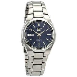 Seiko Series 5 Automatic Blue Textured Dial Men's Watch SNK6