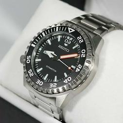 Citizen Stainless Steel Automatic Marine Sports Men's Watch