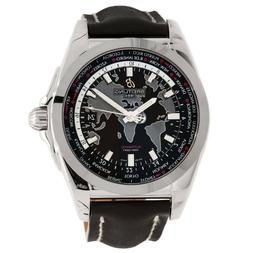 BREITLING Swiss Automatic NEW Watch Galactic Unitime Steel 4