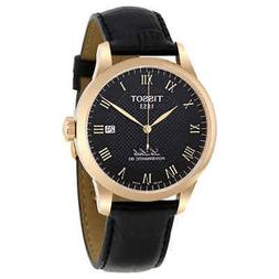 Tissot T-Classic Automatic Black Dial Men's Watch T006407360