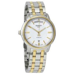 t classic automatic iii day date men