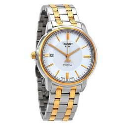 Tissot T-Classic Automatic III White Dial Men's Watch T065.4