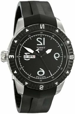 Tissot T-Navigator Automatic Black Dial Men's Watch T0624301