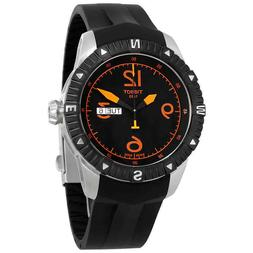 Tissot T-Navigator Black PVD Stainless Steel Mens Watch T062